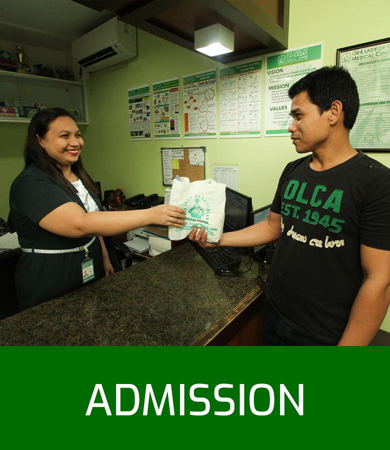 OLCMC Facilities - Admission(1)