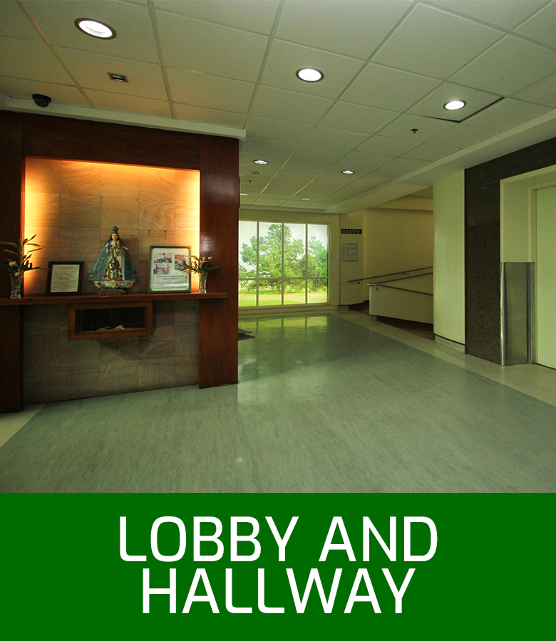 OLCMC Facilities - Lobby and Hallway